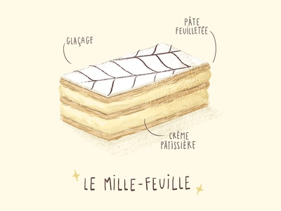 Mille-Feuille illustration