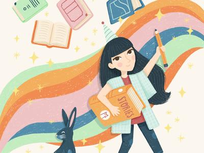Children's Book Week Illustration