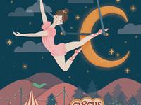 Portfolio Club Circus Illustration