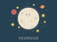 Stubborn Moon