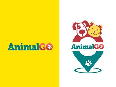 Animal Go (animalgo.co) brand identity logo design