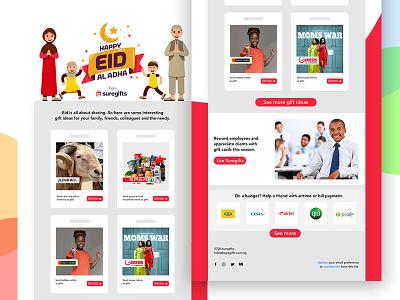 Eid al adha email design design email html uiux ux ui