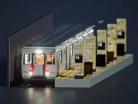 A little dirty subway