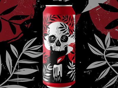 Beer design brewing beers can beer illustration