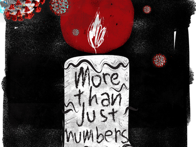More than just numbers pandemic covid19 illustration illustrations covid