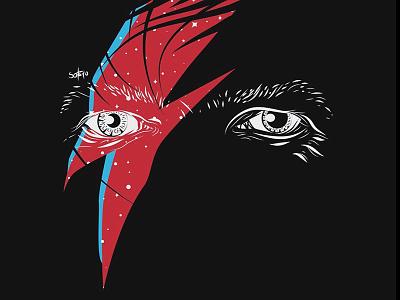 Ziggy art bowie illustration davidbowie