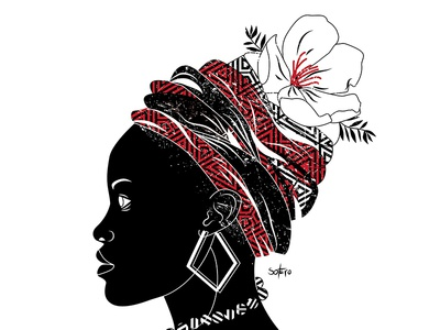 Afropunk artdirection art girl women ilustração illustrador illustrator book editorial illustration afropunk afro