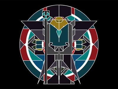 Separation Divination vector illustration