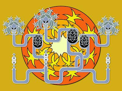 Hatchlings vector illustration