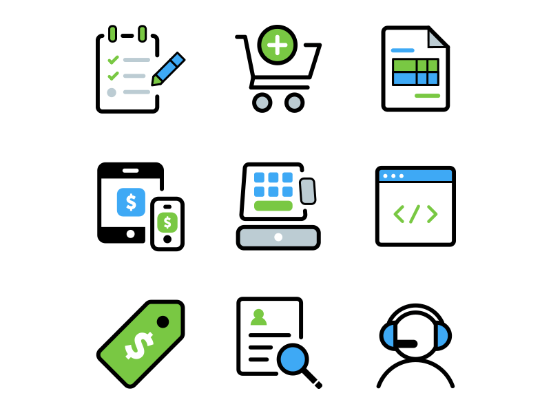 Product Icons product iconography icons