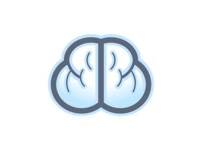 Brain illustration logos vector brain logo