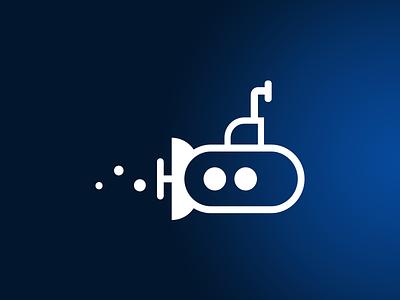 Submarine illustrator submarine icon design icon
