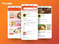 Tiffin Service App Mockup