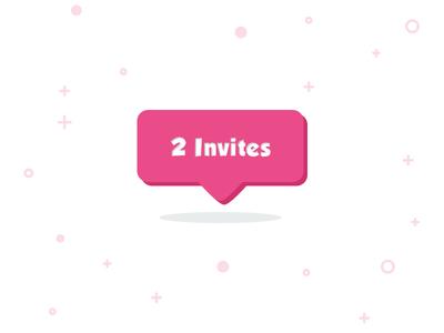 2 Dribbble Invites design giveaway dribbble invite giveaway invitation dribbble invite dribbble