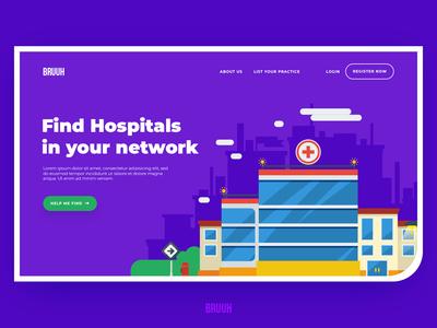 Hospital Finder - Homepage