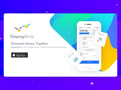 FinancyBirds - Landing