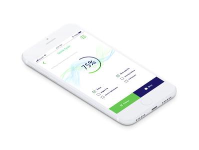 Mobile cache file clean app icon app ux ui