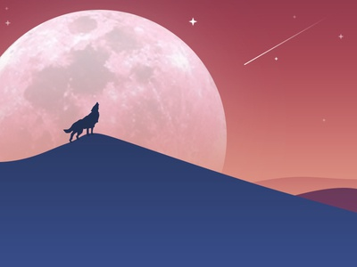 Series of wolf-ONE