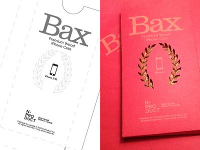 Bax Product Packaging bax product packaging laser etch