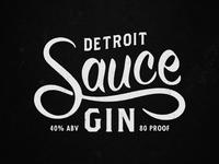 Detroit Sauce Gin