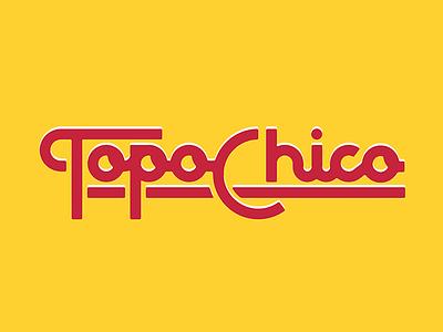 Topo type illustration script branding brand topo topochico