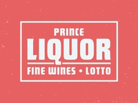 Prince Liquor Sign