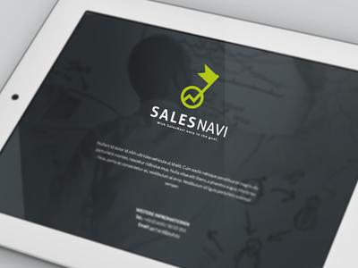 SalesNavi branding salesnavi logo identity
