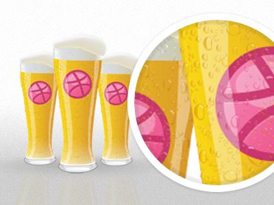 Dribbble Beeer dribbble beer