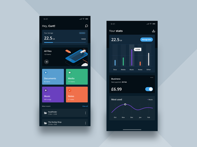 FileSplash 2.0 storageapp ui dashboard appdesign productdesign uxdesign uidesign