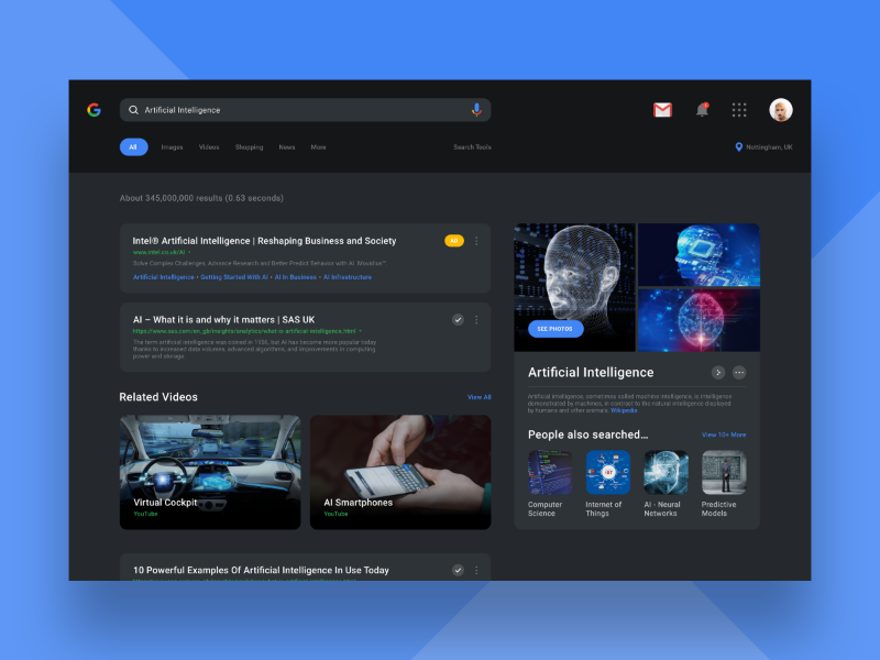 google dark theme by curtis lee dribbble dribbble