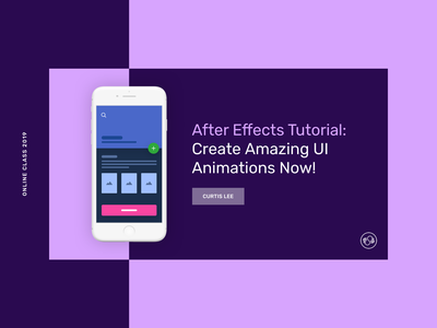 SkillShare | After Effects Tutorial graphicdesign flatdesign vector design animation illustration appdesign productdesign uxdesign uidesign