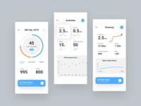Health App Wireframes v2