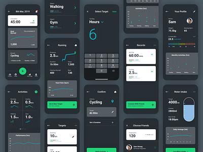 UNiDAYS Health App branding ux typography dashboard ui app appdesign productdesign uxdesign uidesign