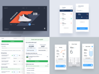 2019 Collection typography ux app dashboard ui appdesign webdesign productdesign uxdesign uidesign