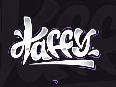 Letterin - taffy design illustration calligraphy lettering