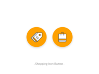 Shopping Icon Button