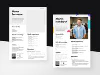 Free resume template (teaser)