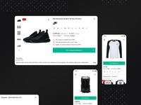 Product detail (Lightbox) — Mobile &Desktop version
