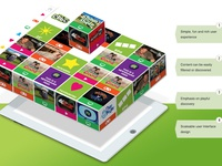 CBBC Mobile App - Initial Concept Idea