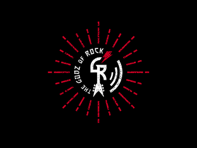 The GODZ of ROCK branding design logo