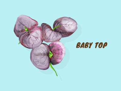 Baby Top vector illustration artwork