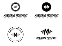 Logo concept for Mastering Movement. Any feedback is appreciated