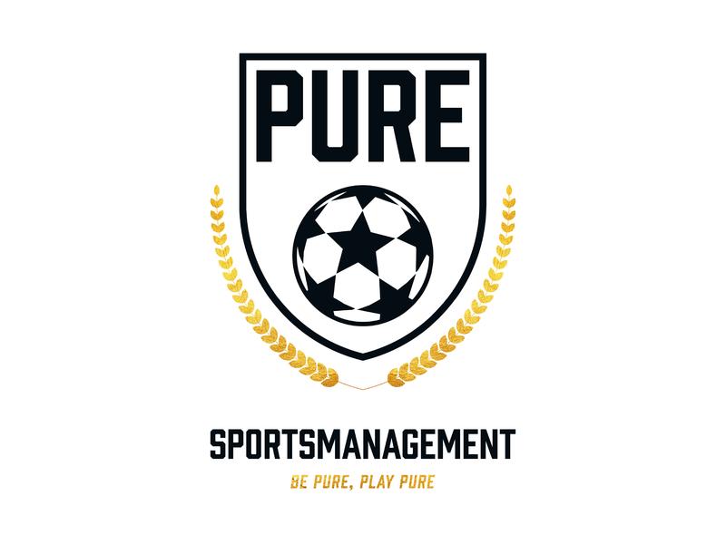 Pure Sportsmanagement branding logo