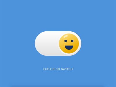 Playing with switch button simple animated gif animation animated logo uidesign on off switch on off minimal ux ui switch button switch