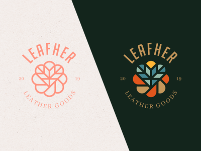 Leafher Leather Goods Brand Concept