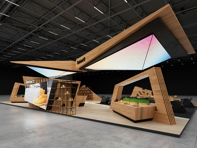 Exhibition Designer For Timberland 2017 Gm Stand Design