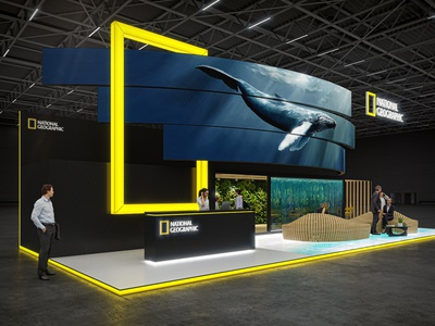 Exhibition Stands For National Geographic 2018