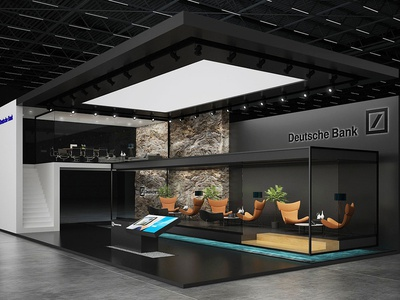 Deutsche bank Exhibition stands
