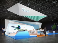 Booth Design For Iqos 2018