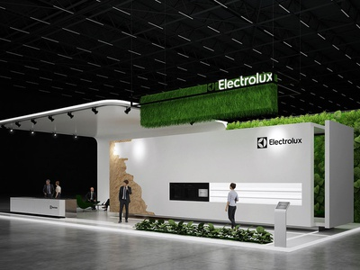 Exhibition Stand design Electrolux